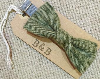 Green Tweed BOWTIE
