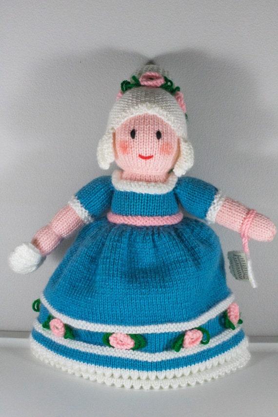 Cinderella Topsy Turvy Doll Hand Knit Princess Doll