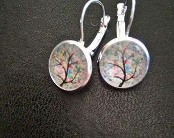 Earrings tree color