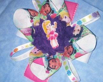 princess hair bow