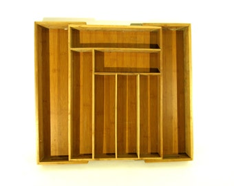 Rare, Wooden Expandable Organizing Tray