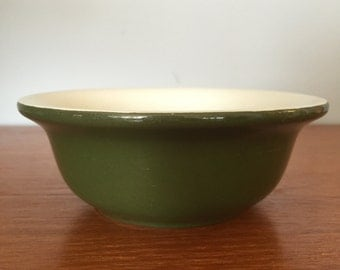 Small Green Ceramic Bowl - Hall