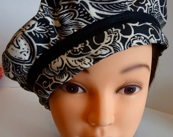 Black and White Beret!