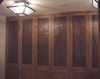 Hand Woven Copper Panels Limited Quantity per square foot