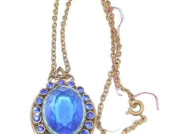 Vintage, Rhinestone , Necklace,