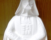 Star Wars Darth Vader Bank lg ceramic bisque paint it yourself