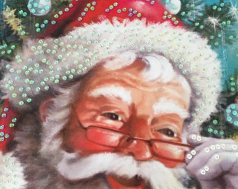 Jolly Old St Nick banner