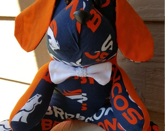 Denver Broncos Football Dog