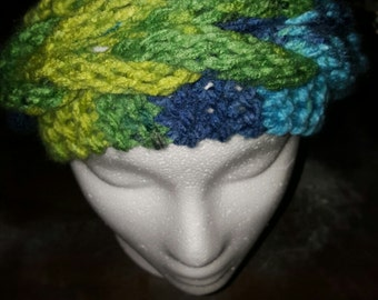 Knit Braided Headband/Earwarmer
