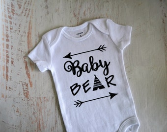Newborn Baby Boy Baby Girl Gender Neutral Baby Bear Bodysuit