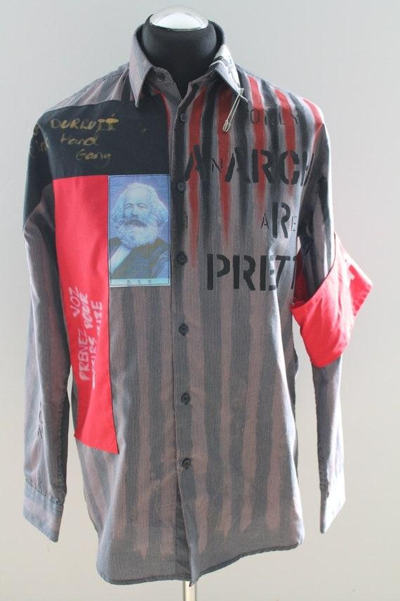 Items similar to Seditionaries Anarchy Shirt (Repro) on Etsy