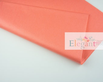 Tissue paper l Coral PM Tissue paper l Gift Wraping l DIY