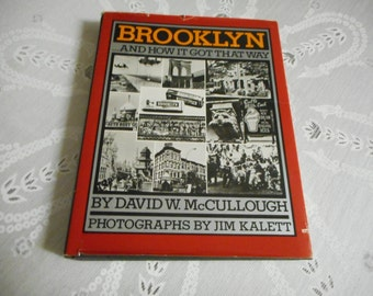 Brooklyn And How It Got That Way; 1st Ed 1983; New York, black and white photography, vintage photography, vintage NY, brownstones,