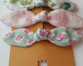Set of Three Hair Clips