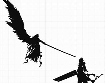 Sephiroth Etsy