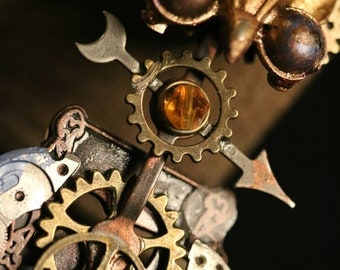 Steampunk Owl-The Wing Commander