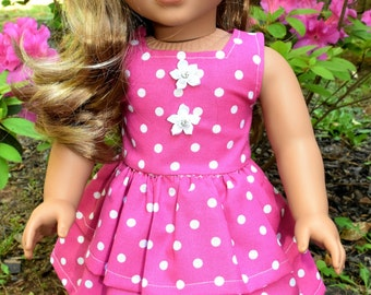 "Handmade Doll Clothes for American Girl or any 18"" Doll"