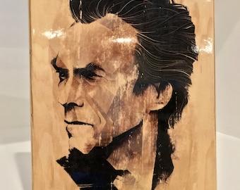 Custom Gel Transfer Print Wood Art Wall Art