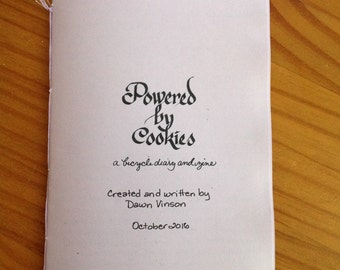 Powered By Cookies Bicycle Diary and Zine | October 2016