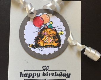 Happy bityhday card