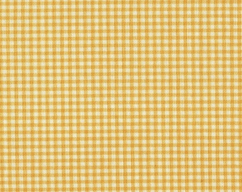 """15"""" Twin Gathered Bedskirt, Yellow Gingham Check"""