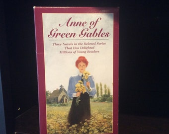 Anne of Green Gables Box Set Trilogy by Lucy Maud Montgomery