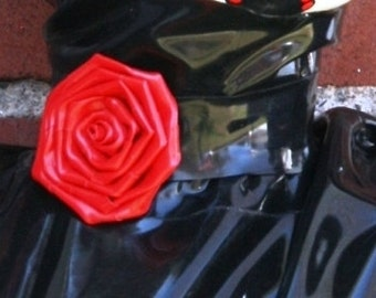 Rose latex Necklace