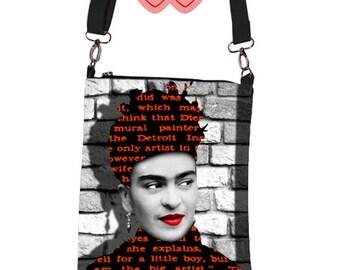 Frida Kahlo de Rivera, Bag with Frida, Bag Frida, Frida on the bag, Bag Frida Kahlo, Frida, Frida Kahlo, Images of Frida on the bag