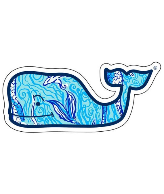 Lilly Pulitzer Vineyard Vines Whale Vinyl By Palmbeachpreppy