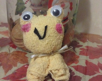 Homemade Cloth Frog for Babies & Toddlers (Ideal for Baby Showers)
