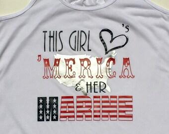 Merica & Marine 4th of July Patriotic