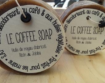 "The ""Coffee soap"" SOAP exfoliate the coffee"