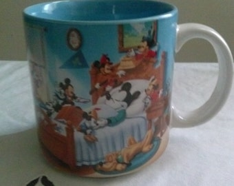 Disney* Mickey Mouse! Through The Years* Collectors Cup/Mug.