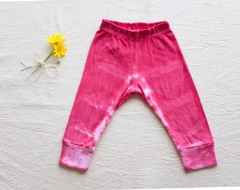 Hand Dyed Baby Legging 6-12 months