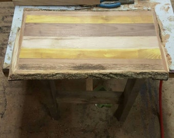 Solid Wood Live Edge Cutting Board