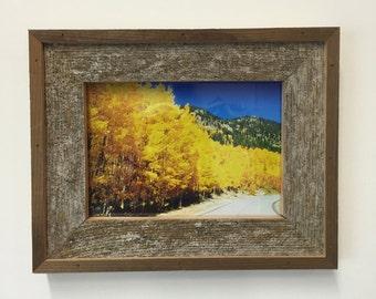 Reclaimed Barnwood Picture Frame