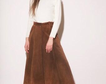 Vintage 70s pleated skirt