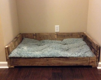 Rustic Dog Bed Frame