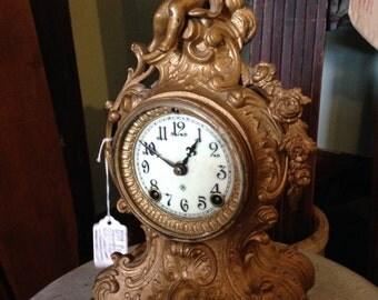 Ansonia Clock Company vintage mantle clock