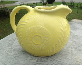 USA pottery pitcher