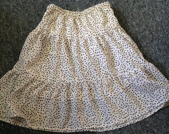 Girls/Ladies Spring/Summer Skirt  elasticated waist customised cotton/polycotton Polka dot/spotted/floral