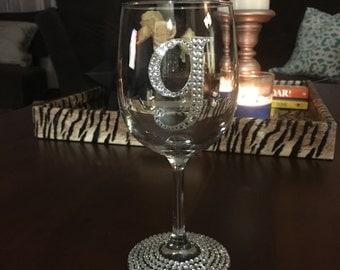 Bling Wine Glass