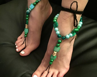 "Barefoot sandals ""Revolution in the Woods"""