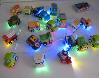10 Led String Fairy Lights - Little Trucks