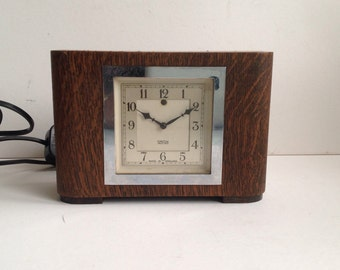Art Deco Smiths electric clock