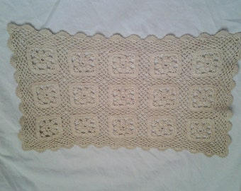 Choice of 2 Large Beige Doilies