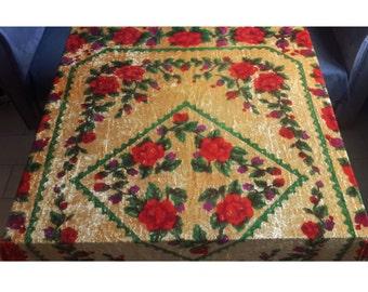 Vintage Velvet Bedspread Etsy