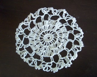 lovely hand crocheted doilies
