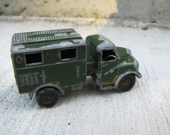 Vintage Matchbox Lesney No. 68 Austin MK 2 Radio Truck, England Toy Truck, Lesney Toy Truck, Austin Mk2 Toy Truck