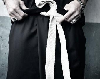 harem pants/trousers/mens pants/Men's Fashion ByTheR Flat Rope Belt Gothic Onesize Vintage P000BIRW CA